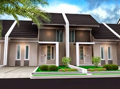 Home decor diy crafts using house front design pictures ground floor and front elevation small house Simple House Design, House Front Design, Minimalist House Design, Modern Minimalist, Narrow House Designs, Two Storey House, Level Homes, Ground Floor, House Plans