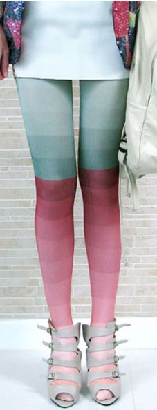 Ombre Tights by Kronkron