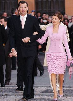 Felipe, Prince of Asturias and Letizia, Princess of Asturias