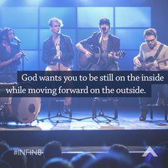 God wants you to be still on the inside while moving forward on the outside. www.elevationchurch.org