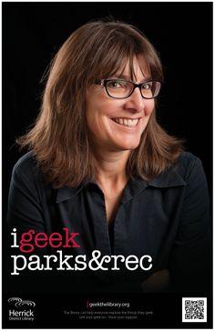 """i geek parks & rec"""