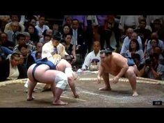 September 2015 - Day 1 - Kakuryu v Tochinoshin - YouTube