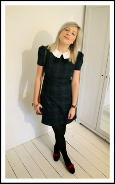 primark tartan dress