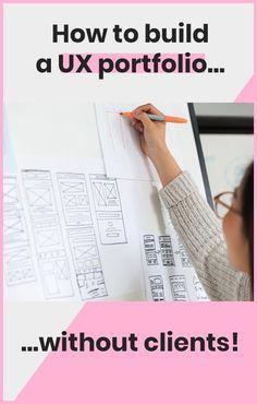 How to Build a UX Portfolio—Without Clients - Ana Santos Web Developer Portfolio, Ux Design Portfolio, Ui Animation, Ux Design Principles, Design Food, Design Web, Design Android, Ui Design Mobile, Layout