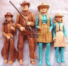 My brother had the cowboy and an Indian doll too! He played Barbies with us with those guys!  Too funny!