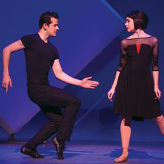 Robert Fairchild and Leanne Cope in An American in Paris.