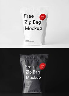 Free #Zip #Bag #Mockupis a creative mockup coming from Ruslan Latypov. It comes in PSD format with built-in smart object feature, so you can easily change colors, adjustable shadows and reflections in few clicks. You can use this to showcase your forthco Bag Mockup, Phone Mockup, Mobile Landing Page, Photoshop Tutorial, Photoshop Actions, Adobe Photoshop, Brand Presentation, Branding Design, Packaging