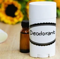 Homemade Deodorant by @draxe Homemade Deodorant Total Time: 5 minutes Serves: 30-90 INGREDIENTS: 1/2 cup coconut oil 1/2 cup baking soda 40-60 drops essential oils - Choice of Scents [Scent recommendations: Female oils scents (lavender, lemon and sage) Male oils scents (cypress, rosemary and bergamot)] Empty deodorant containers Directions: Put coconut oil in bowl Mix in baking soda Add in essential oils Store in a deodorant container or in a glass jar