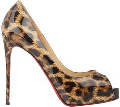 Christian Louboutin Women's New Very Prive Pumps-Brown  https://api.shopstyle.com/action/apiVisitRetailer?id=468822844&pid=uid2500-37484350-28
