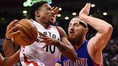DeRozan's record night leads Raptors over Pistons