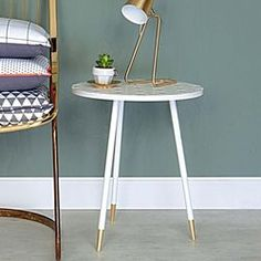 Table d'appoint design Mellow ATYLIA - Table d'appoint
