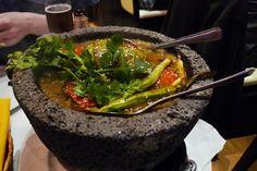 KSK Messico || molcajete con salsa