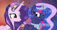 Love Flame and Sparkling Night by NightmareLunaFan on DeviantArt