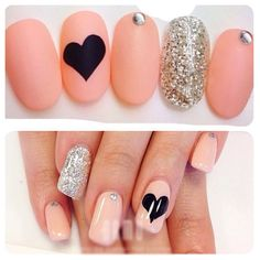 Hey, I found this really awesome Etsy listing at https://www.etsy.com/listing/160951285/matte-nude-heart-fake-nails-10g-nail