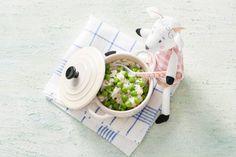 Opperdepop: risotto met doperwtjes 10-12 mnd - Recept - Allerhande