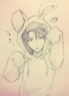 Cute [Levi in a bunny suit] Attack on Titans