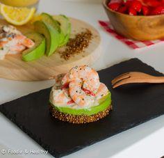 Crevettes crémeuses et Quinoa