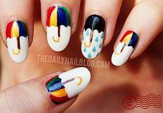 lift-the-wings:    umbrella nails - Pesquisa Google on @We Heart It.com - http://whrt.it/1108Pbh