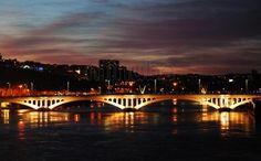 Puente de la Guillottiere. Lyon.