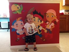 Jake and the Neverlands Pirates wall decal