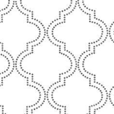 "Found it at AllModern - Symetrie Tetra Quatrefoil 33' x 20.5"" Trellis Wallpaper"