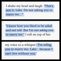 Colleen Hoover books Great read!!!! Could not put book down!!