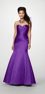 Alfred Angelo Style 7168 Bridesmaid Dress in Viola...boom! There's my color for future reference lol