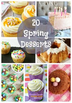 20 Spring Dessert Ideas