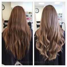 Ljusare med en soft mörkblond ton ☝️ #shinyhair #healthyhair #hairgoals