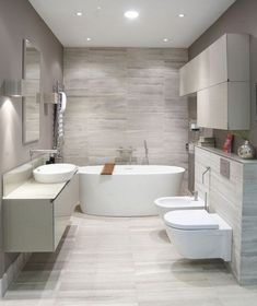 Here are the Contemporary Bathroom Design Ideas. This article about Contemporary Bathroom Design Ideas was posted under the Bathroom category. Contemporary Bathroom Designs, Bathroom Tile Designs, Modern Bathroom Decor, Bathroom Layout, Bathroom Interior Design, Scandinavian Bathroom, Modern Bathrooms, Budget Bathroom, Modern Contemporary