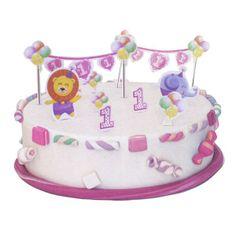 decoracin tarta primer cumple nia tu slo tienes que colocarlo http