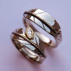 native american engagement rings - Native American Wedding Rings