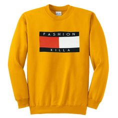 Trillfiger fashion killa Sweatshirt – newgraphictees #sweatshirt #shirt #sweater #womenclothing #menclothing #unisexclothing #clothing #tups