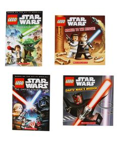Look what I found on #zulily! LEGO Star Wars Paperback Set #zulilyfinds