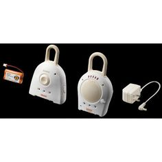 Sony NTM-910YLW Baby Call 900MHz Nursery Rechargeable Monitor with Transmitter #Sony