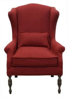Wingback Red. Lounge option