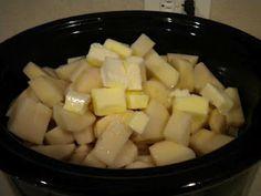 crock pot mashed potatoes