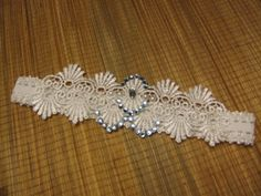 Wedding Garter-Bridal Garter White Ivory something blue garter crystal-R-L-X.L Vintage lace garter. Blue Garter, Wedding Garter, Something Blue, Blue Crystals, Embroidered Lace, Vintage Lace, Crystal Rhinestone, Sparkle, Ivory