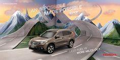 Honda. Illusions on Behance