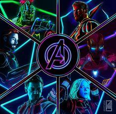 Neon Avengers (Original Lineup) (@aniketjatav)