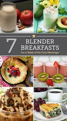 7 Blender Breakfasts For a Week of No-Fuss Mornings - thegoodstuff