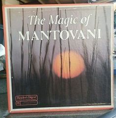 Vintage 8 Records The Magic of MANTOVANI 70s Collectible Intimimate Easy Listen