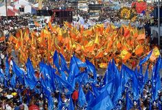 Carnival in Trinidad is the largest in the Caribbean