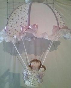 lustre de paraquedas para quarto de bebê - 2