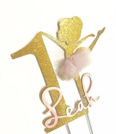 Ballerina Cake Topper