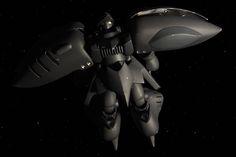 香織淳士フォトギャラリー キュベレイの発展型のメス(死)と言うコードネームの長距離強襲攻撃機で、威力偵察にも使用されるという設定。 そのため中短距離迎撃機のキュベレイに対してメインエンジンと索敵機能が強化されている。 いきおい格闘戦では多少不利だが、強力なエンジンと宇宙向けロービジ塗装もあってタイマン戦闘でもどんな敵にも引けを取らない。本職の攻撃機としても高い基本性能と強化ビットにより配備機数の割には大きな戦果を上げたが、サイコミュシステムの量産化でコストダウンを図ったとは言えパイロット不足は否めず、極秘運用されたこともあり公式な交戦記録は残っていない──という妄想(笑)。