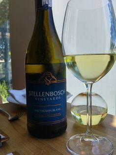 Sauvignon Blanc at Bistro Stellenbosch Sauvignon Blanc, White Wine, Alcoholic Drinks, Dishes, Glass, Beautiful, Drinkware, Tablewares, Corning Glass