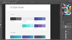 nice Using Style Guides in Web Design - Workflow of Modern web Design course - website videos on youtube
