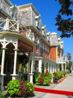 Niagara on the lake - My favourite place to visit in the summer.  McCainAllGood
