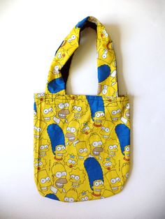 The Simpsons Tote Bag by MAGICbyAnnaPanda on Etsy, $18.00 #TheSimpsons